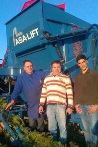 Cabaz Verde (Marcio Santos) dos Foros de Salvaterra e Paulo Bartolo de Alcochete, dois clientes satisfeitos